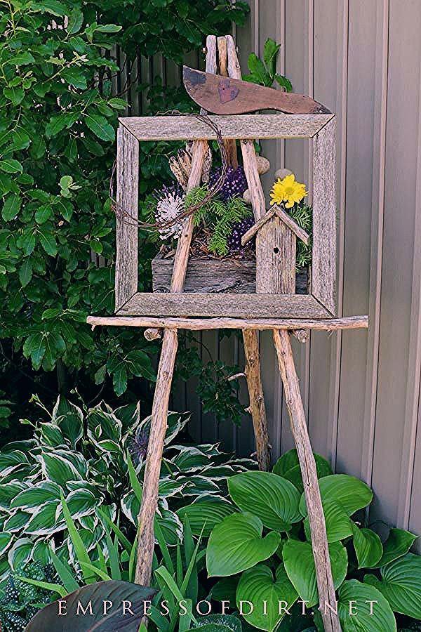 Garden Art Easel Idea Gallery | Empress of Dirt
