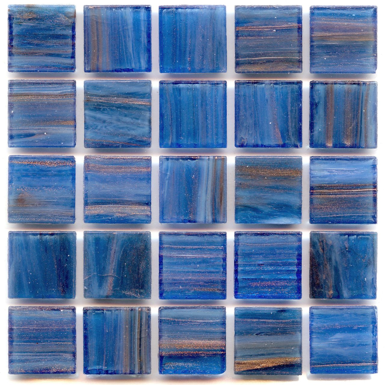 Discount Glass Tile Store - Aventurine - Lapis Lazuli 3/4x3/4-in ...
