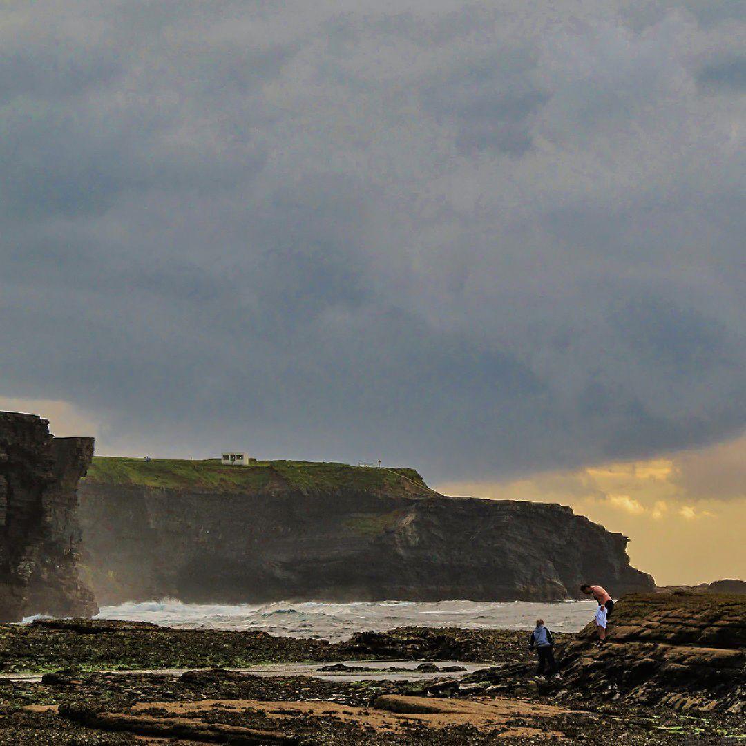 Co. Clare coast near Kilkee, Ireland  #limerick #ireland #irish #street #limerickstreet #Kilkee #CountyClare