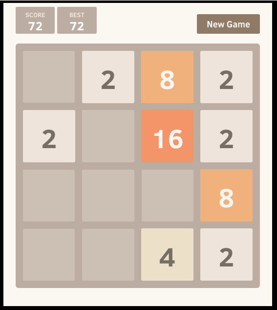Math Game 2048 Subtraction Games Math Games Number Puzzles