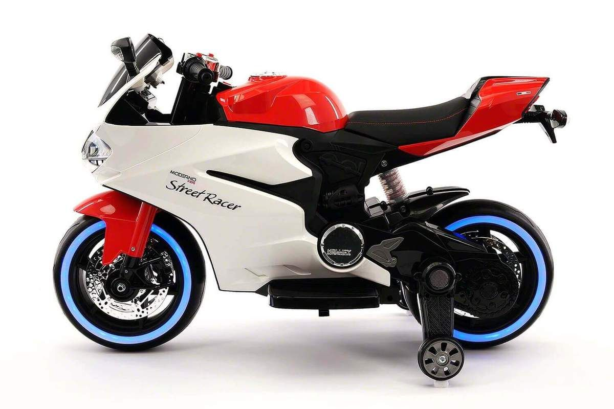 Electric Kids Ride On 12v Motorcycle With Led Lights Mp3 Aux Training Wheels Kids Ride On Ride On Toys Kids Motorcycle