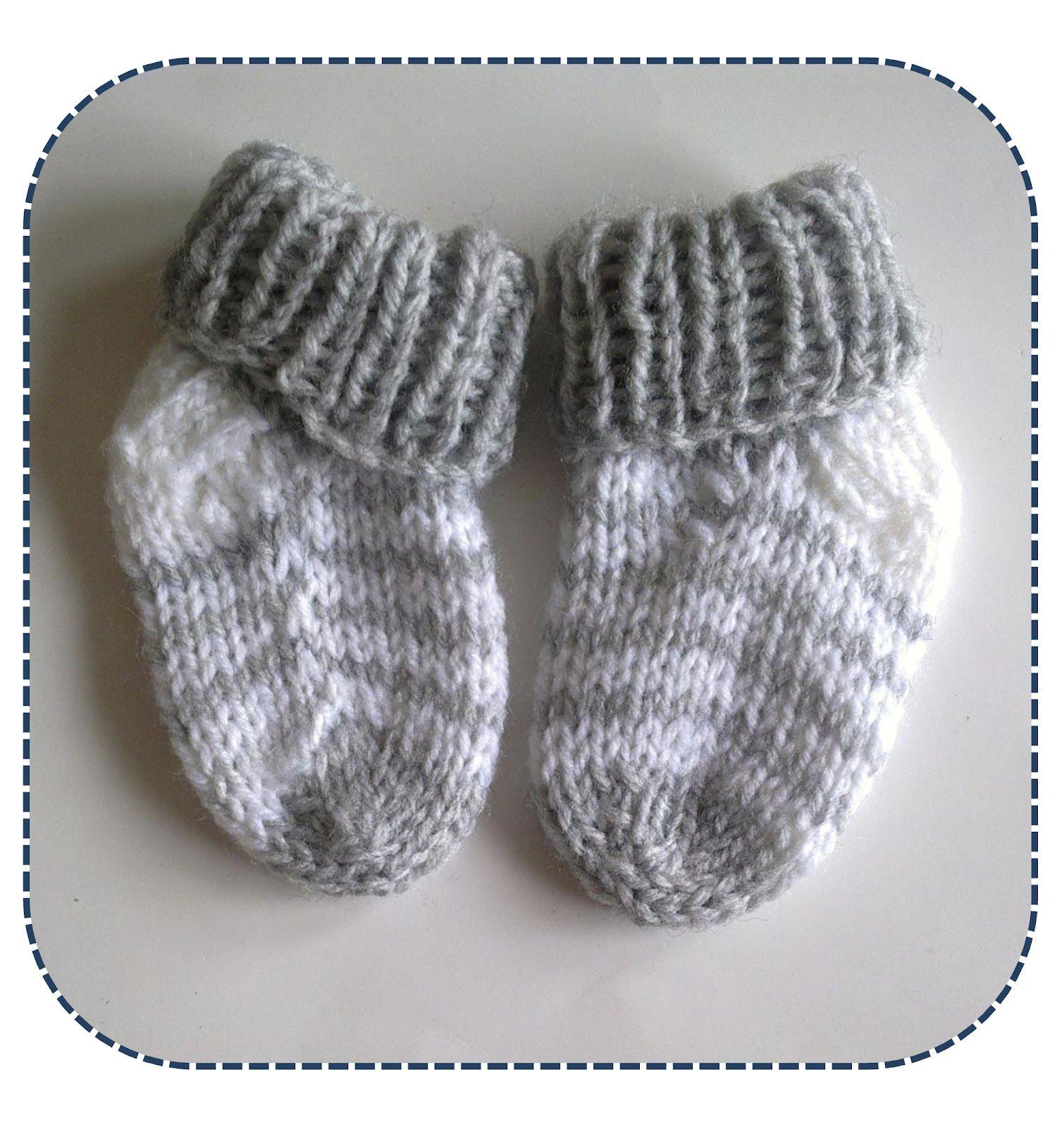 A la Sascha: Simpele Gestreepte Baby Sokjes | breien | Pinterest ...