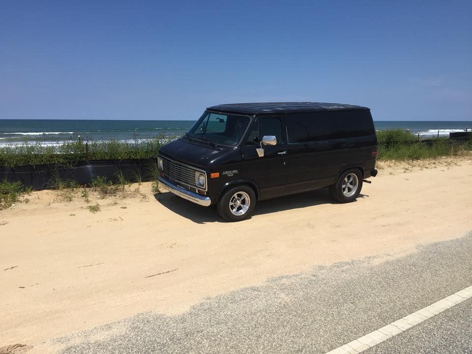 Chevy 70s Beach Van Chevy Van Vintage Vans Cool Vans