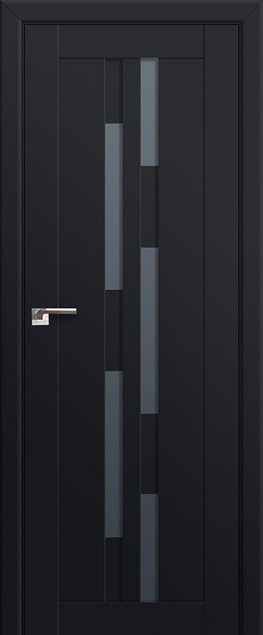 Modern Interior Doors Ideas 30: Milano-30U Black Mat Interior Door