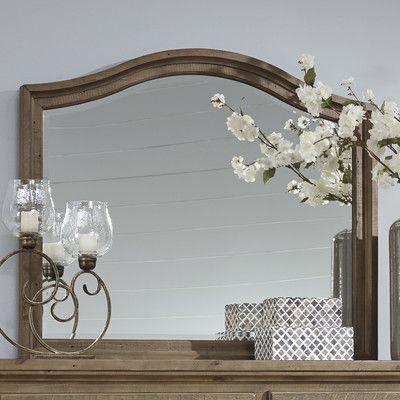 Loon Peak Battalgazi Arched Dresser Mirror
