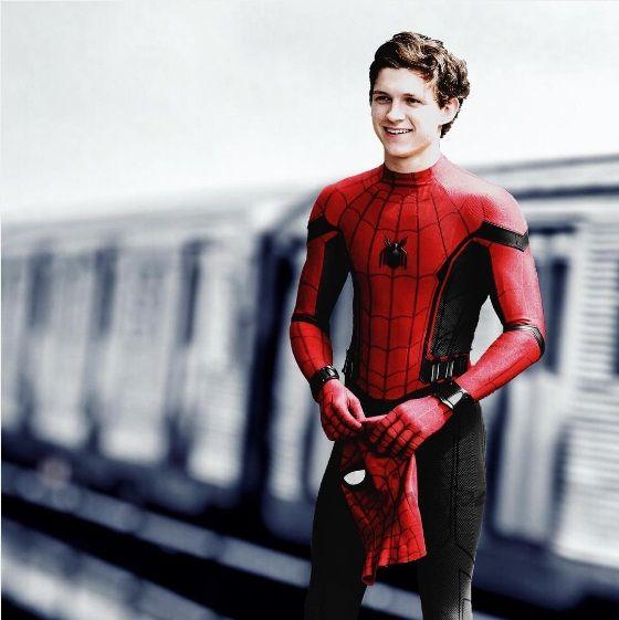Image result for spiderman tom holland wallpaper Tom