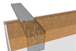 Countertop Support Brackets   Hidden Forward L Bracket For Mounting Granite  Countertops To Cabinets Or Knee Walls