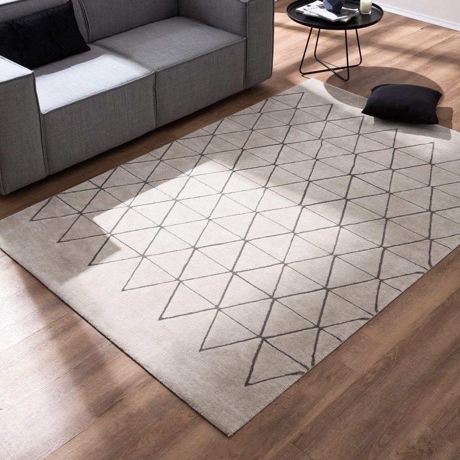 hoogpolig tapijt opus textielmix crà me 200x290cm droomhuis