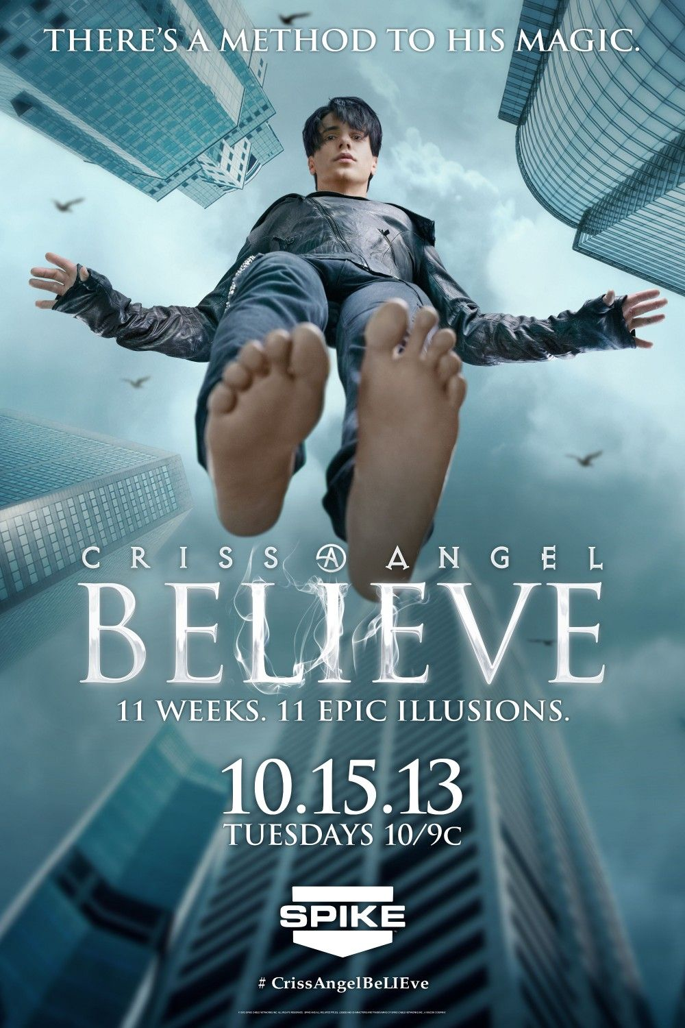 Criss Angel: Believe. I got to see Criss Angel at the Luxor in Vegas and he  was much more personal, heartfelt, and funnier than I ever thought.