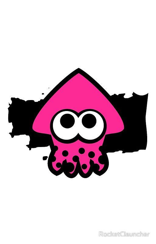 Splatoon Squid (Pink)' iPhone Case by RocketClauncher