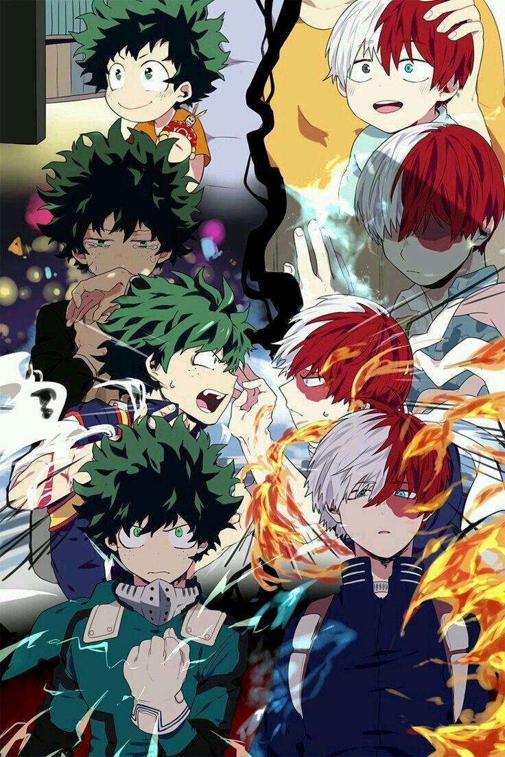 Album Bnha 16 Fondo De Pantalla De Anime Fondo De Anime Personajes De Anime