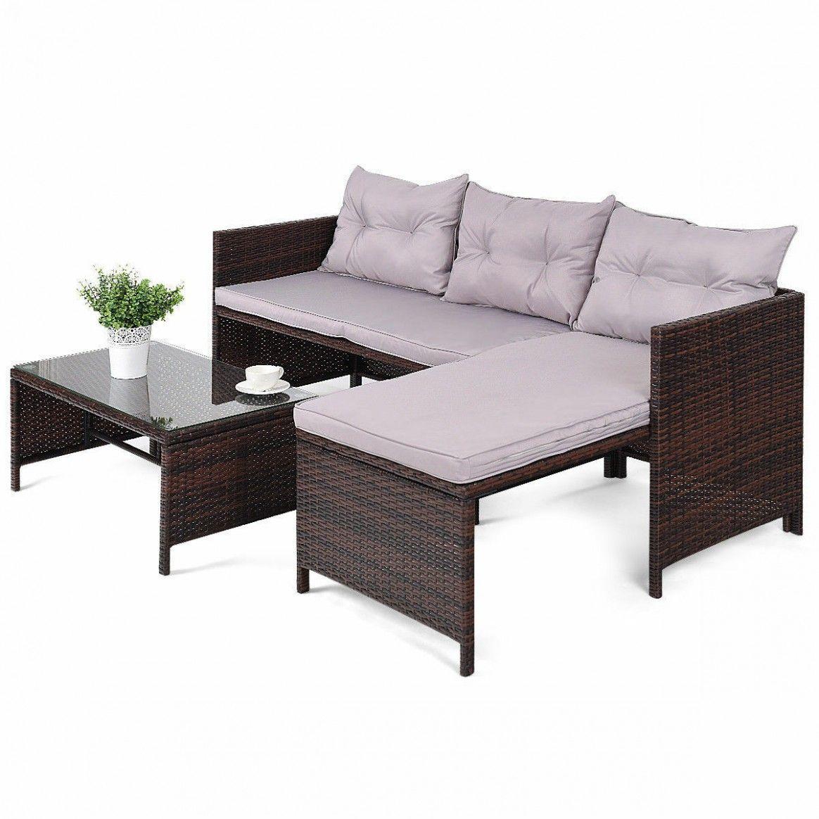 Used Rattan Garden Sofa in 10  Patio sofa set, Outdoor