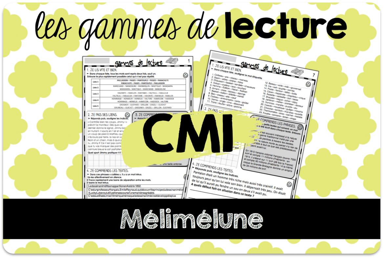 Des gammes de lecture pour le CM1 | Lecture cm1, Lecture ...