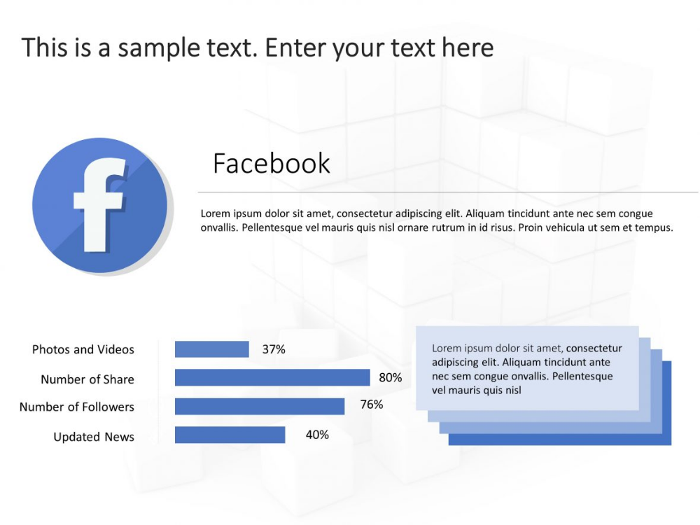 Use Social Media Report Card Powerpoint Template To Showcase