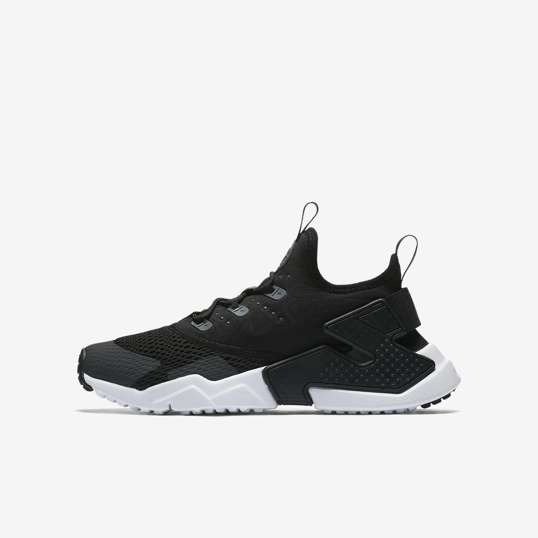 quality design 169df 58e98 Chaussures Homme AIR HUARACHE Drift Noir Anthracite Blanc Anthracite