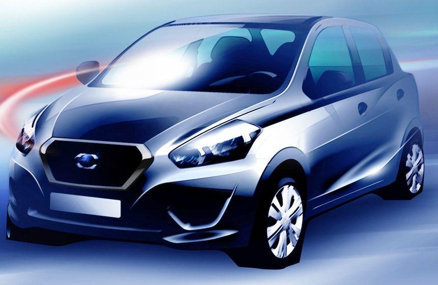 Datsun revela un poco su nuevo modelo Modelos, Autos