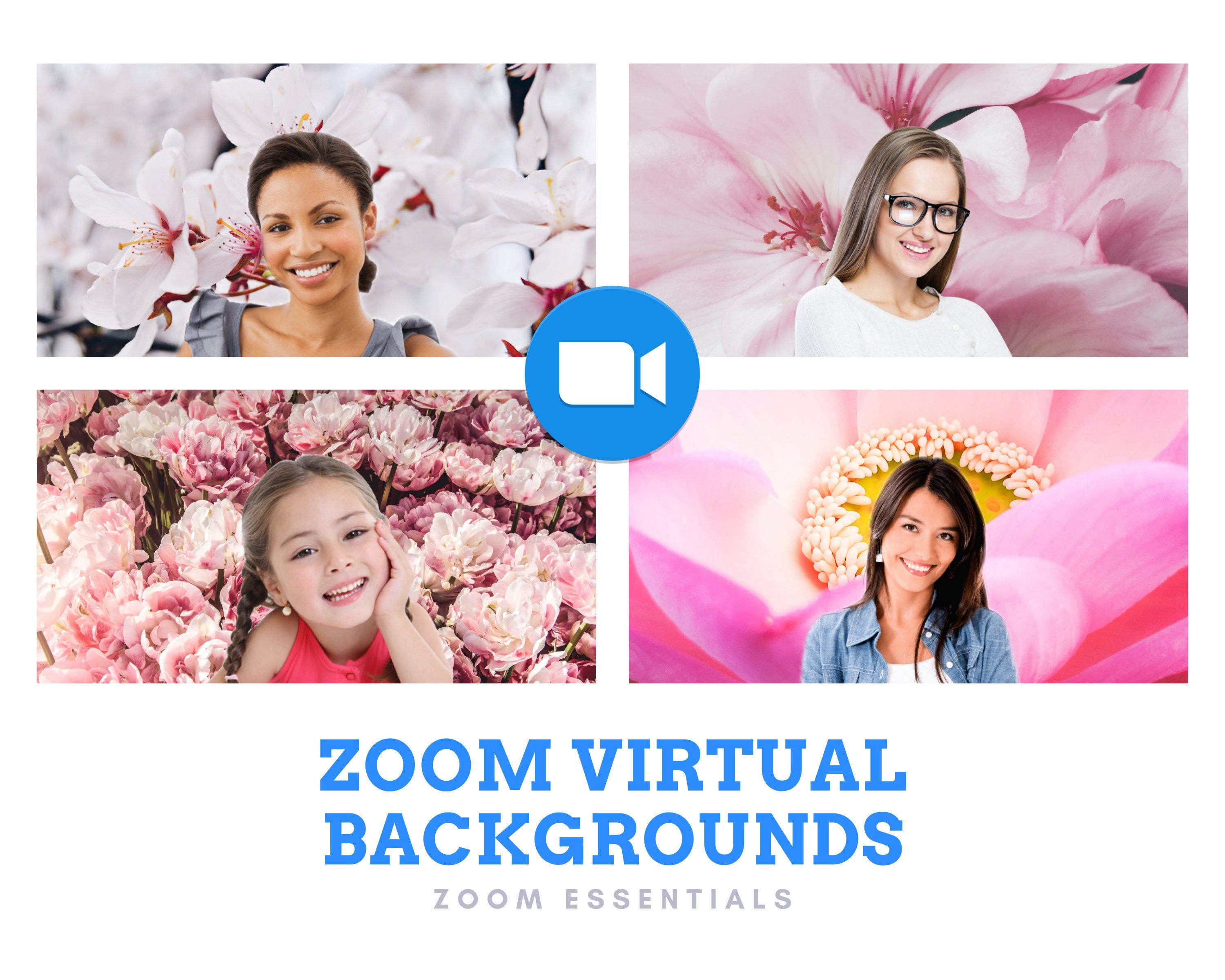 Zoom Virtual Background Pink Flowers Background Pink Virtual Backgrounds Wallpaper Zoom Meeting Flower wallpaper zoom zoom backgrounds