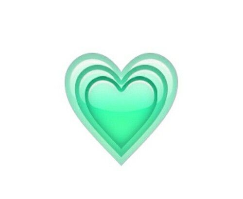 Green Heart Whatsapp Emoji Emoticons Clipart