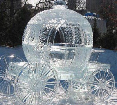 Ice Sculpture carriage