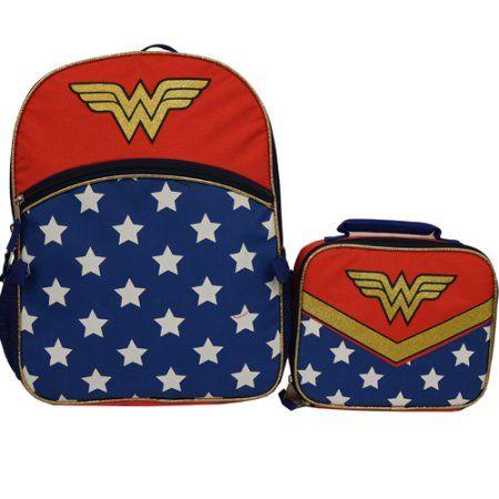 Wonder Wonder Glam Backpack with Lunch ce72f312631ec