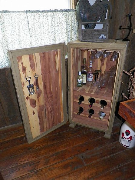Wood Tack Trunk
