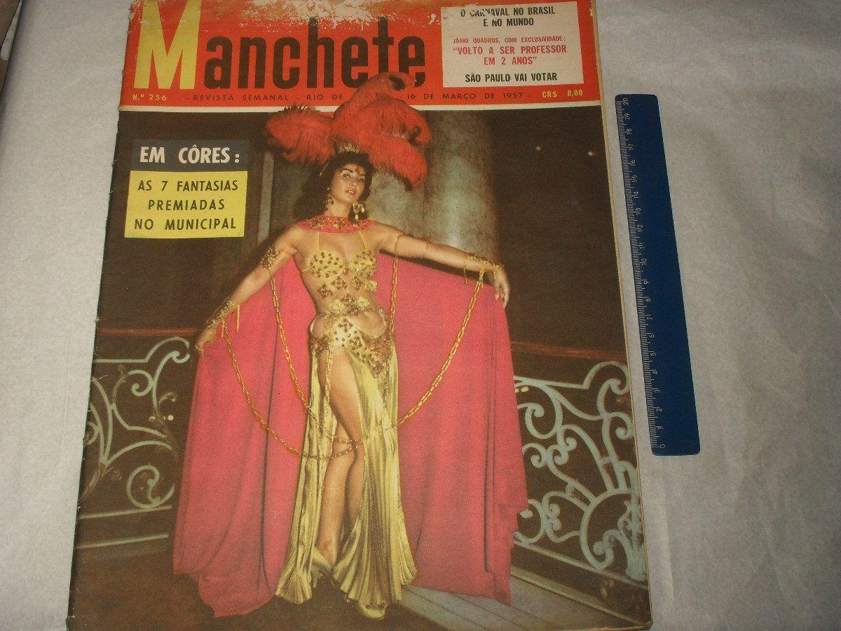 Revista Manchete Nº 256 Março 1957 Carnaval Janio Quadros - R$ 69,90 no MercadoLivre