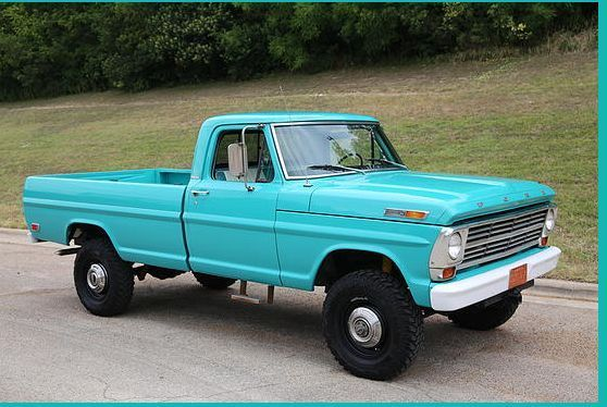1968 Ford F 250 Highboy 4x4 Factory High Rider Very Original No