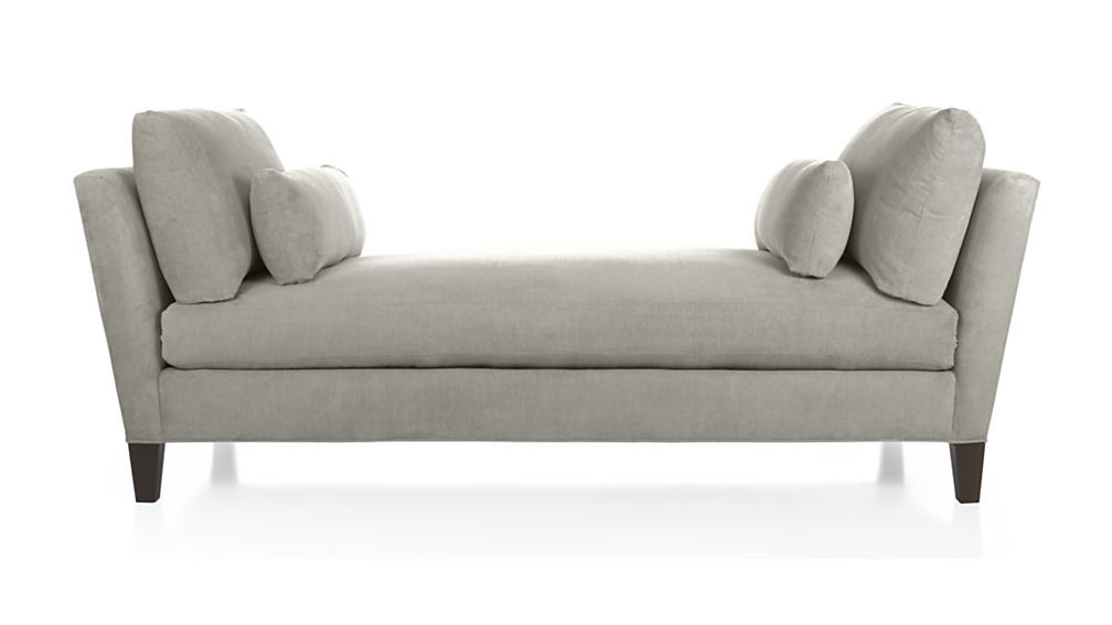 Marlowe Daybed Silver Crate And Barrel