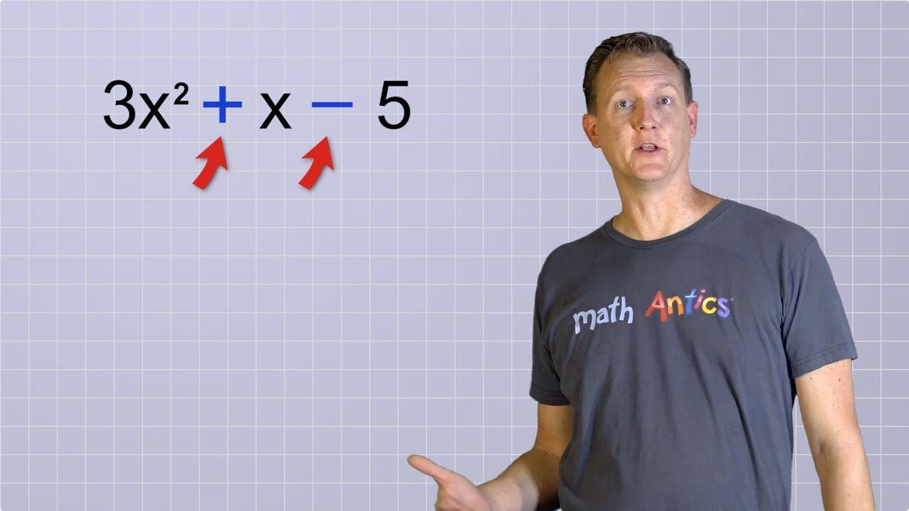 Https Www Youtube Com Watch V Ffllmv4mzwu Feature Share Math Polynomials Algebra Math antics worksheets answers
