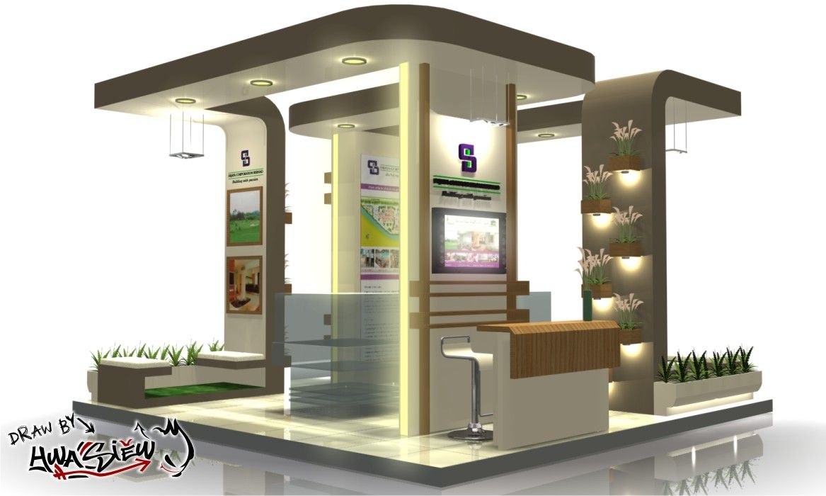 booth design googleda ara - Booth Design Ideas