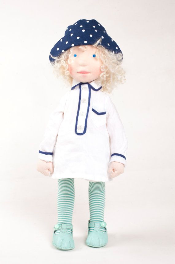 Therese - OOAK, Handmade cloth doll (partial payment accepted)
