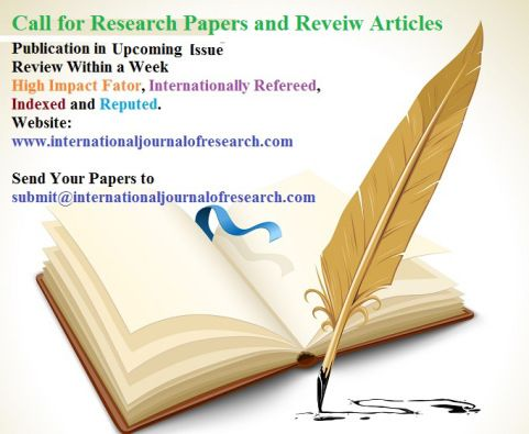International Journal Of Research Research Paper Social Research Research Publications