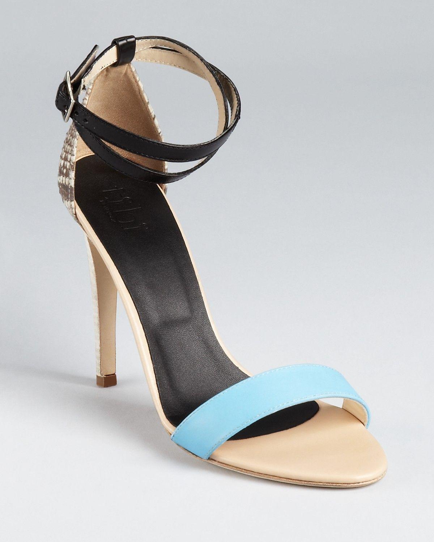 e8bd2e27d5d Tibi Sandals - Amber Python PRICE   365.00