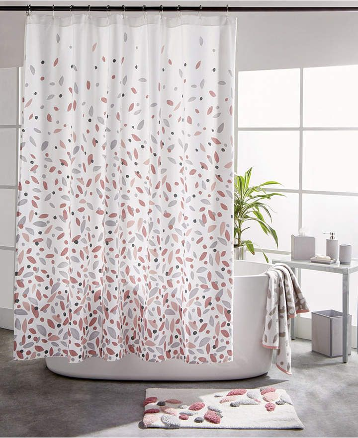 Dkny Petals Shower Curtain Reviews Shower Curtains Bed