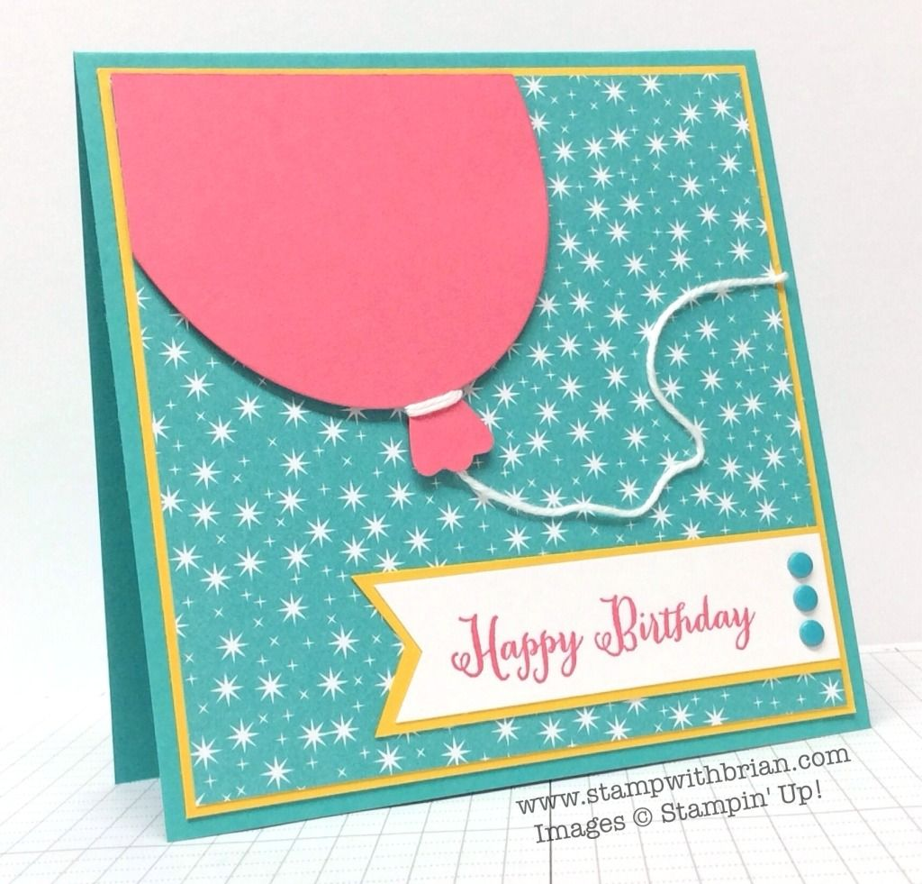 Remembering Your Bithday, Stampin' Up!, Brian King, PPA220