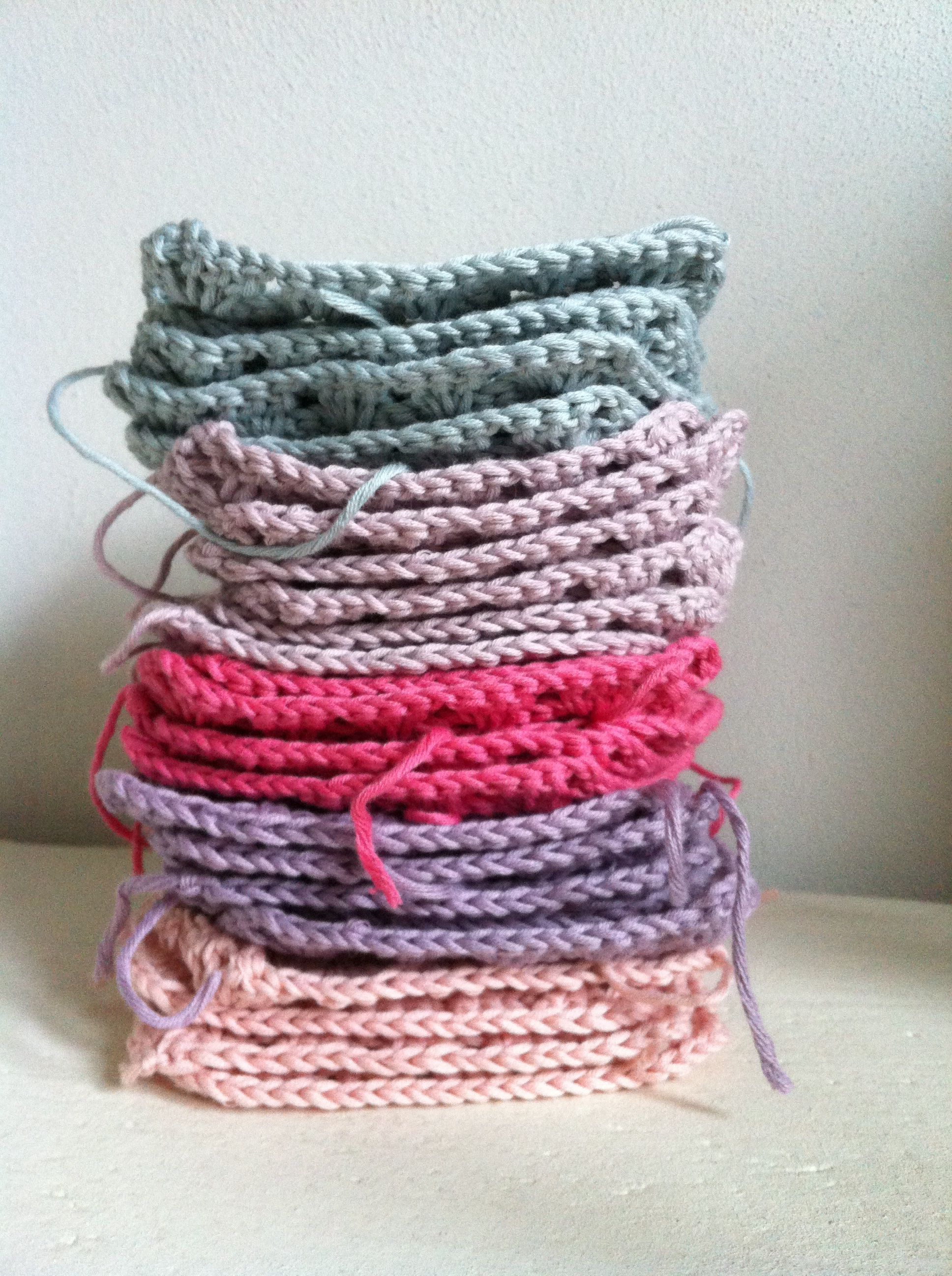 Vierkantjes Haken Knittingembroider And Hook Knitting