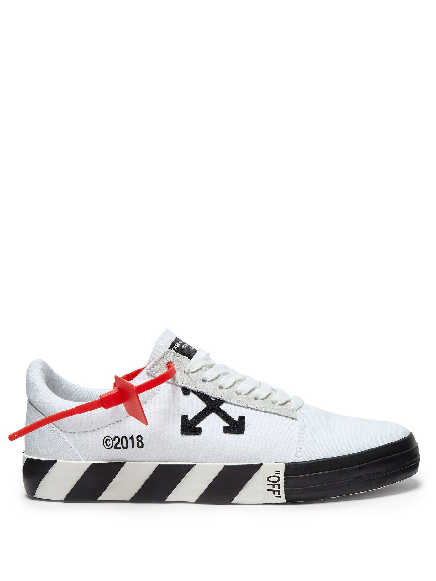 Off-White Vulc low-top canvas trainers