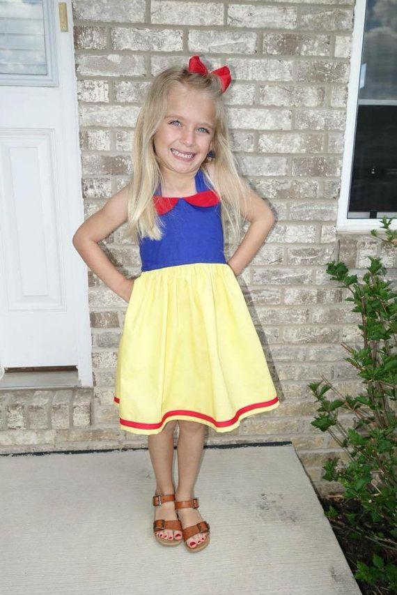 Snow white dress disney princess dress comfortable by BirdeeCloset