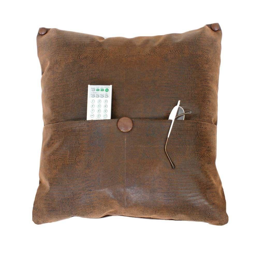 Pocket Pillow Brown Leather Pillows Man Cave Pillow Reptile Etsy Pocket Pillow Leather Pillow Man Cave Pillows