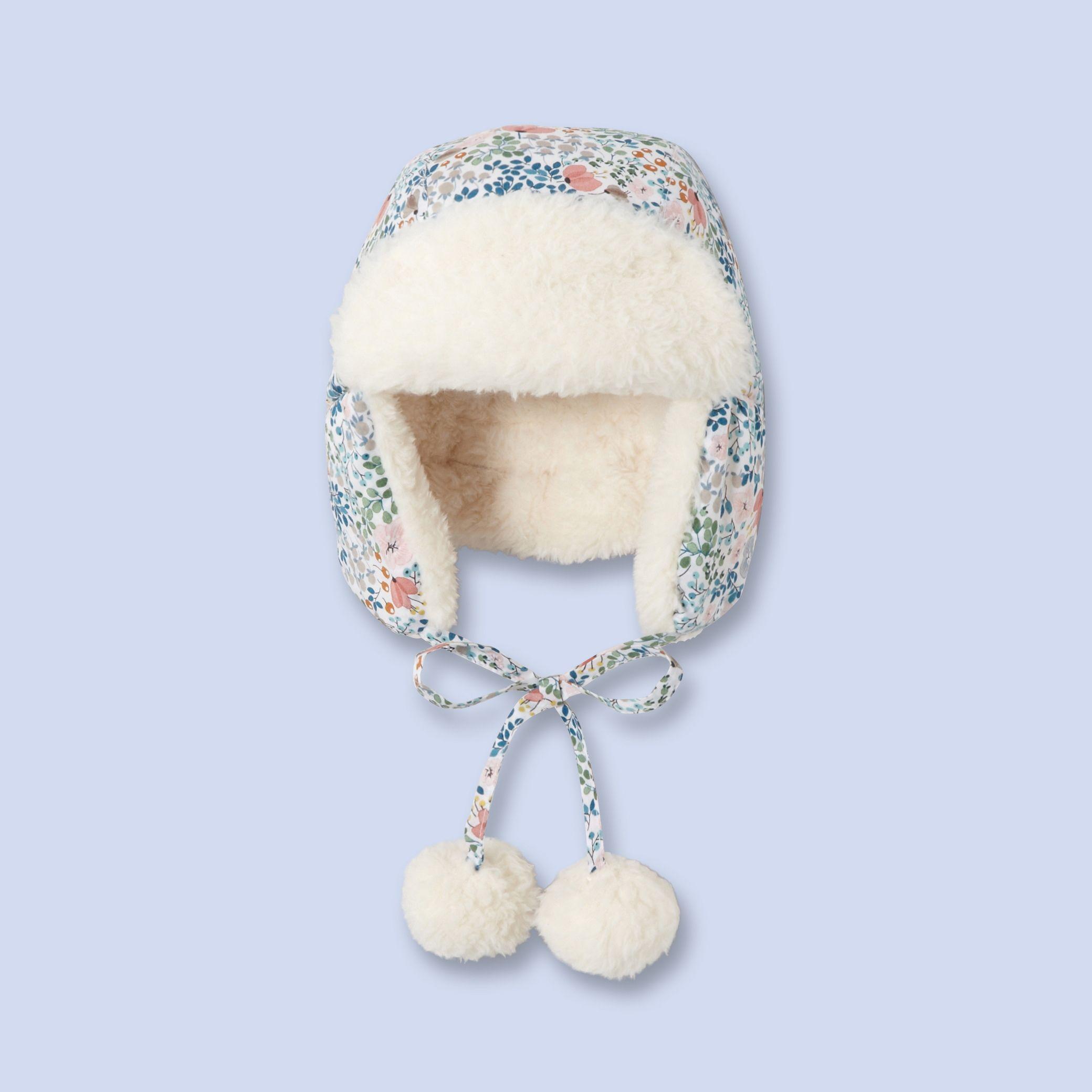 Anna Emilia print hat for baby  7f7caad36f6