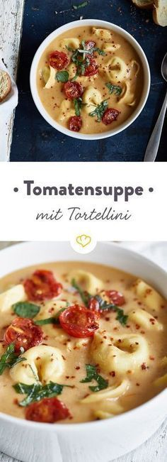 Photo of Tomaten-Tortellini-Suppe