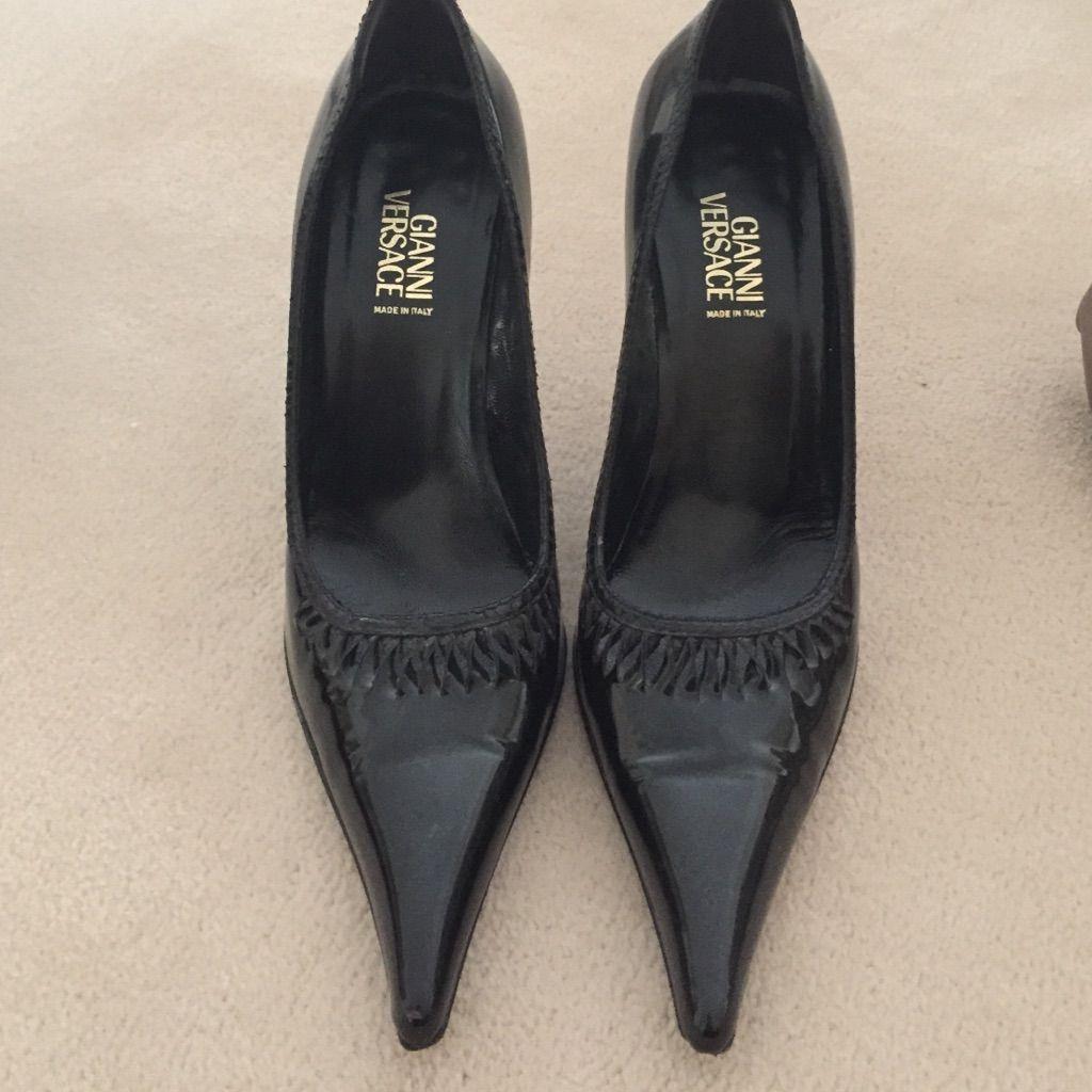 Gianni Versace Vintage Heels Vintage Heels Versace Shoes Gianni Versace