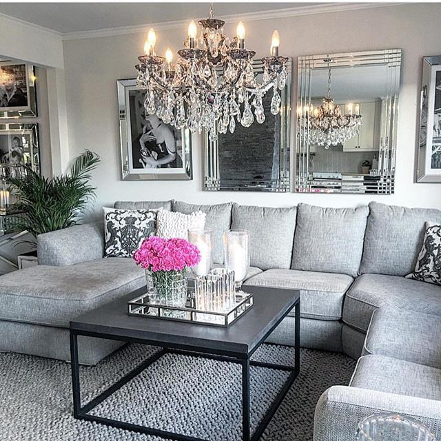 Modern glam by @homebymatilde Living room Pinterest