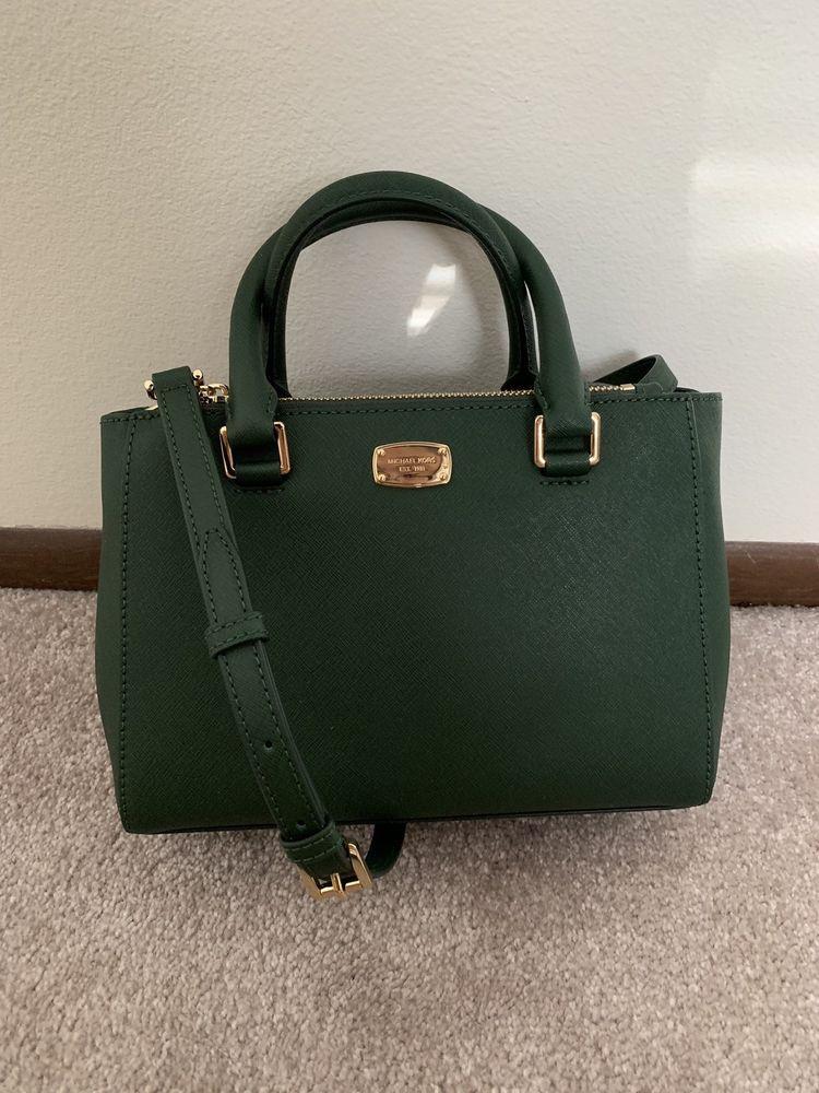 50eb564a0b Michael Kors Kellen Small Satchel Handbag MOSS NEW WITH TAG  fashion   clothing  shoes