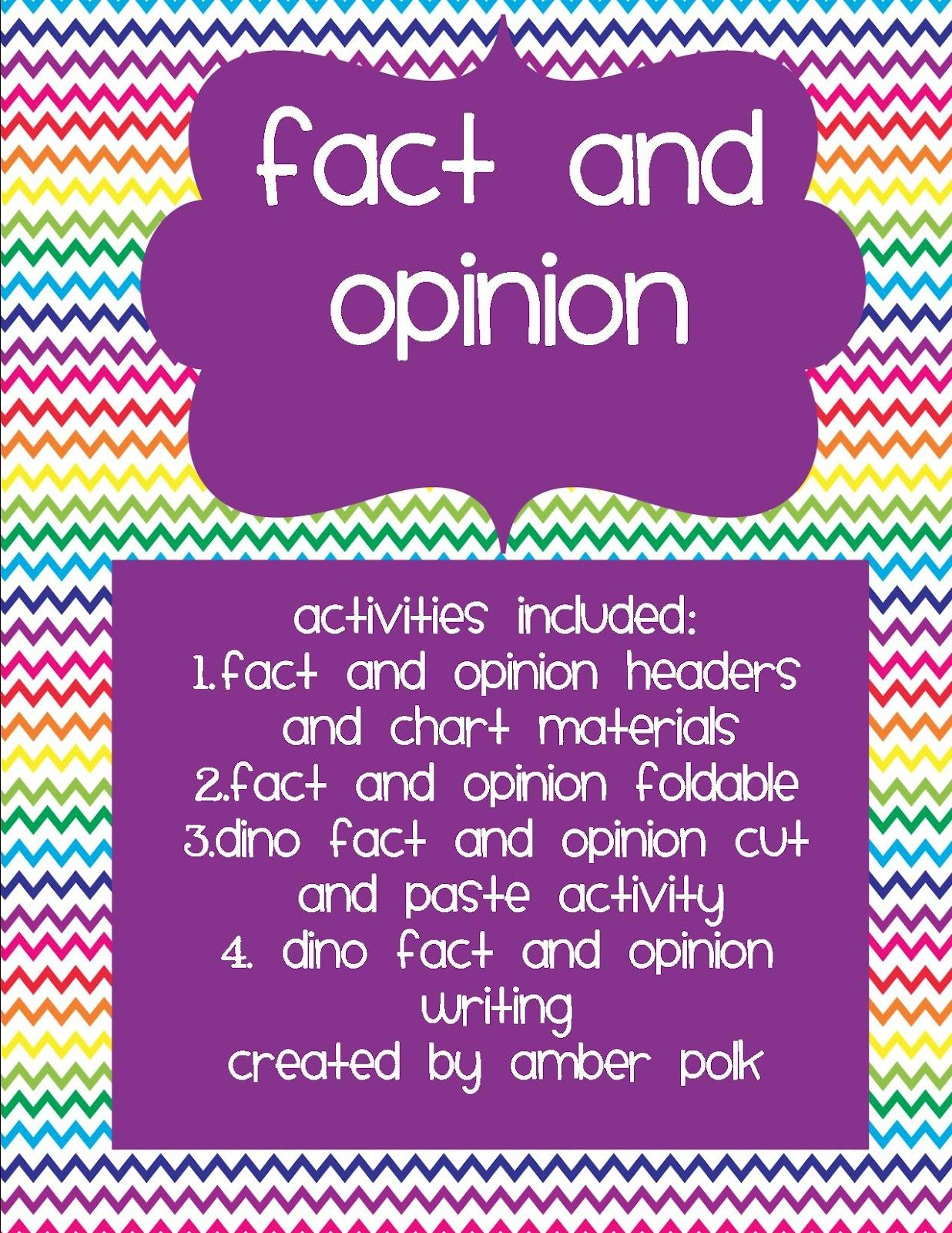 Adventures Of A Third Grade Teacher Fact And Opinion Clues For Anchor Chart