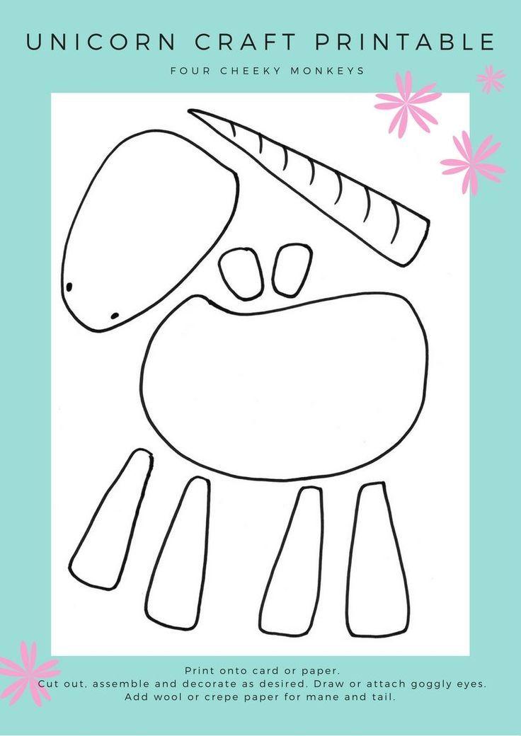 Unicorn craft activity: flower crown and free printables #unicorncrafts