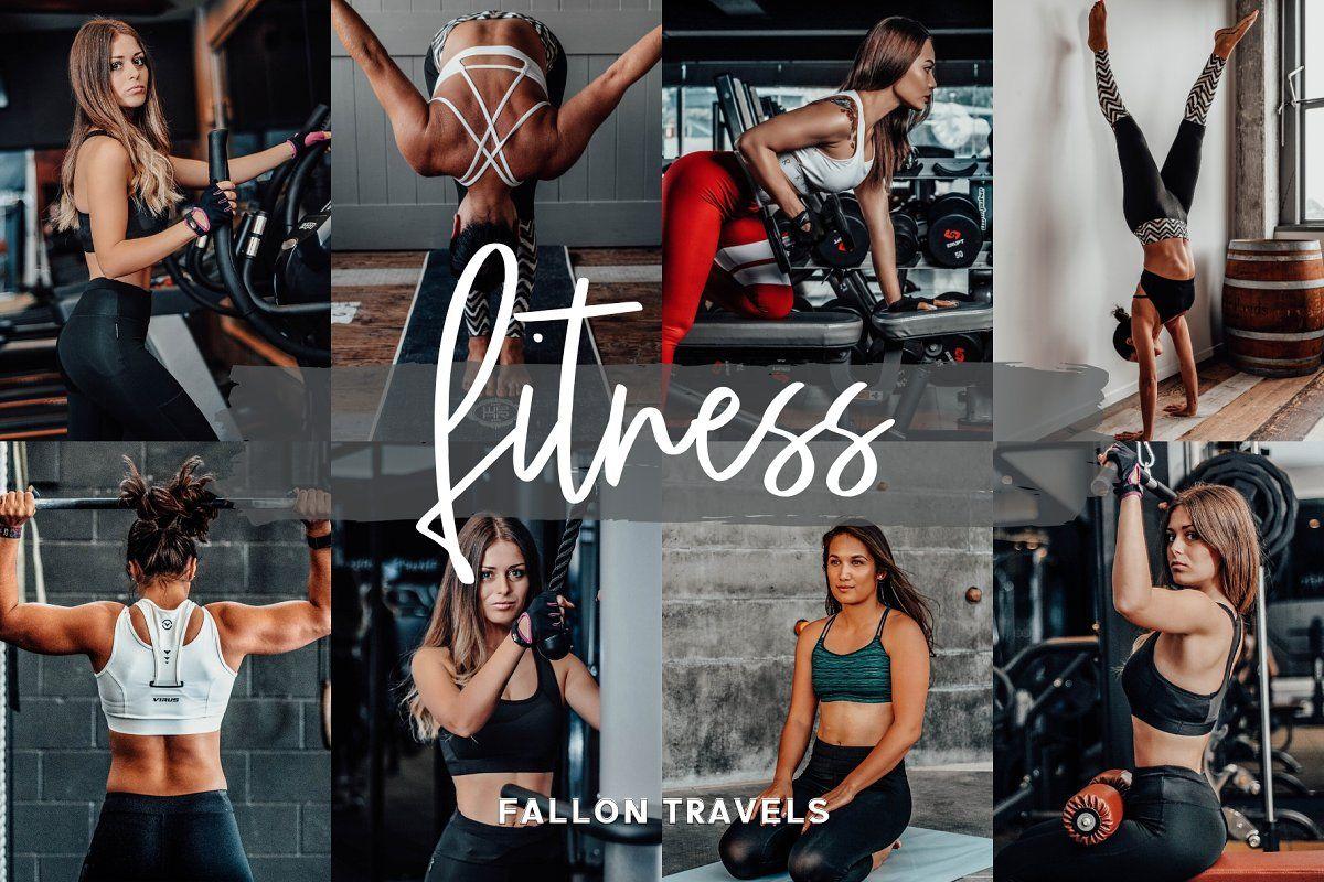 Fitness Lightroom Mobile Presets Instagram Editing Lightroom Presets Photo Editing