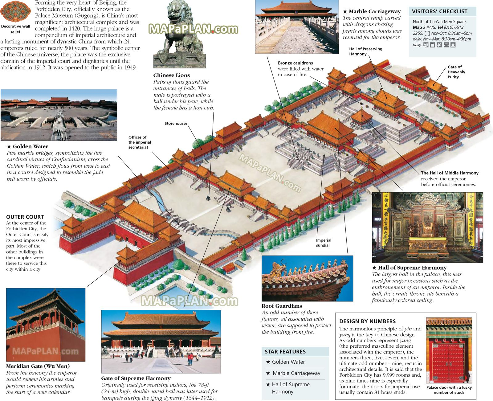 Beiing Forbidden City Old Imperial Palace Museum Arquitetura Antiga Cidade Proibida Arquitetura Classica