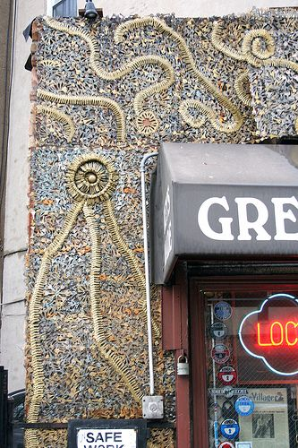 Greenwich Locksmiths [NY] Use Thousands Of Extra Keys To Create Swoops And  Swirls On The Exterior Of The Building.