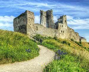 One of the oldest towns of Estonia – Rakvere. 13th century Rakvere Castle.